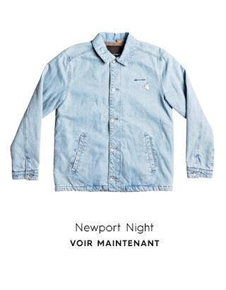 Newport Night - Denim Coach Jacket